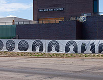 Walker Art Center Art Fence