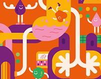 Fluye: Cover illustrations
