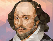 Low Poly shakespeare