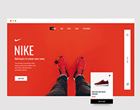 Nike UI Red Concept