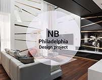 "Interior design project ""Philadelphia"""