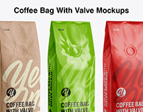 Coffee Bags Moskups