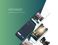 Voyago - Travel App UI Kit