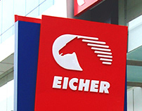 Trade dress for Eicher Trucks & Buses