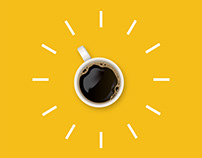 Creative Coffee Time Poster