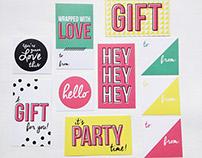 Sucre Shop Gift Labels