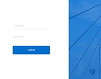 Simple Web Login Design