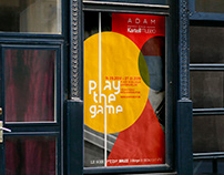 "PROJET SCOLAIRE: Affiche ""Play the game"""