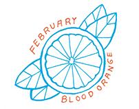 Seasonal fruit calendar