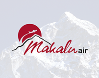 Makalu Air Branding