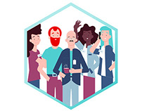 BZWBK AGILE - Illustration series for explainer videos