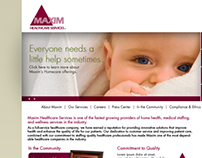 www.maximhealthcare.com redesign