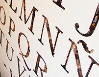 Puzzle Type // Experimental Typography