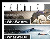 2011 Zentro Group, Inc. Logo Development and Branding