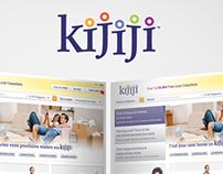 Kijiji Bilingual Web Advertisements