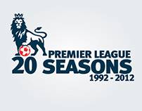 Premier League 20 Seasons Infographic