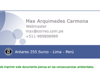 Firma Mail Empresa