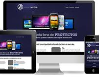 Avant media responsive website