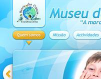 Web Design // Museu das Crianças (not official)