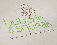 Bubble & Squeak Restaurant Identity