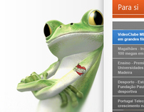 Website Portugal Telecom
