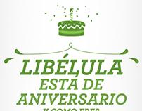 TARJETA VIRTUAL/LIBÉLULA