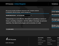 HRAccess Corporate Website Design Concept 02