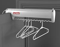 Hang-N-Dry Closet Clothing Dryer
