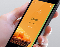 Fruit App UI