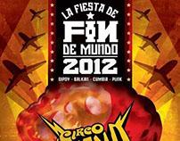 """Poster for """"Fin de Mundo 2012"""""""