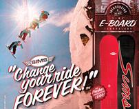 12-13 Sims Snowboard Ad Campaign