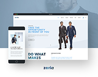 Zaria - WordPress Theme & HTML5 Template