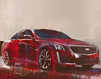 Illustrations for Cadillac