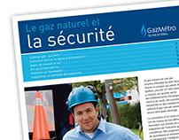 Guide de sécurité avec le gaz naturel – Gaz Métro