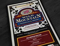 Wild Mountain Smokehouse - Menu