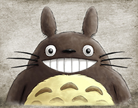 Fan Art: Totoro