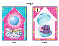 Squinkies Trading Cards