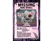 Nightmare Nursery of Gloomvania Character Posters