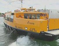 Wasserbusse von DB Arriva in Kopenhagen