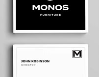 Monos Furniture Rebranding
