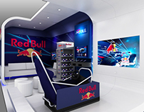 Red Bull - Custom exhibit