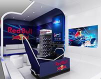 Red Bull - Custom exhibit