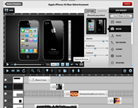 Online Advertising Design Web App