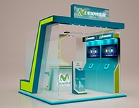 MOVISTAR Modular Booth Design