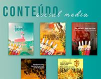 Conteúdo Social Media | Gengibrisa