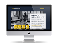 Website Design Concept for Futureworks NYC