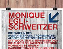 Albert Schweitzer Stiftung | poster draft