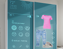 Smart Wardrobe UI & Prototype