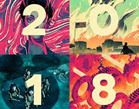 2018 Illustrations