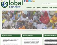 Global Scholar Website Design